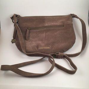 Lucky Brand Suede Crossbody Bag
